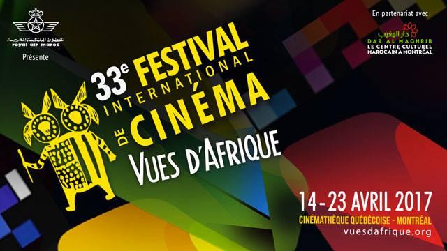 affiche festival Vues d'Afrique